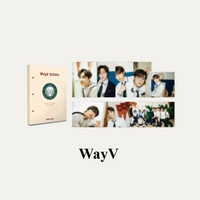 WAYV - 2021 BACK TO SCHOOL KIT - HARD COVER POSTCARD BOOK