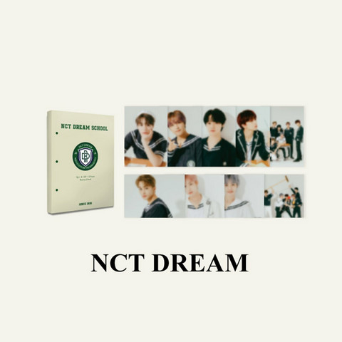 NCT DREAM - 2021 BACK TO SCHOOL KIT - HARD COVER POSTCARD BOOK