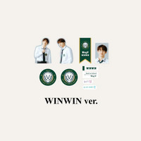 WAYV - 2021 BACK TO SCHOOL KIT - LUGGAGE STICKER+PHOTO CARD SET