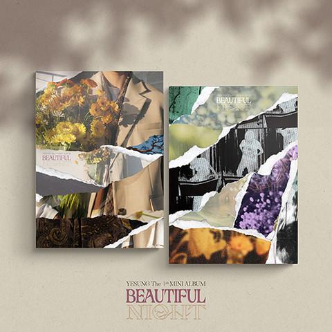 YESUNG - BEAUTIFUL NIGHT (4TH MINI ALBUM) PHOTO BOOK VER. | SATUNNAINEN VERSIO