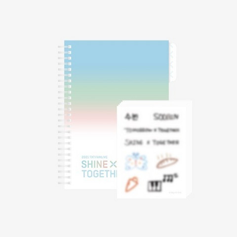 TOMORROW X TOGETHER - SHINE X TOGETHER - SPRING NOTE