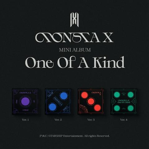 MONSTA X - ONE OF A KIND (9TH MINI ALBUM)