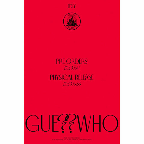 ITZY - GUESS WHO (4TH MINI ALBUM) LIMITED EDITION