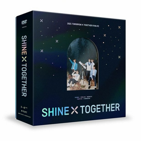 TOMORROW X TOGETHER - 2021 TXT FANLIVE SHINE X TOGETHER (3DVD)