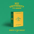 MONSTA X - 2021 FAN-CONCERT MX UNIVERSITY (4DVD)