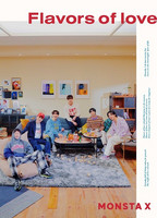 MONSTA X - FLAVORS OF LOVE (W/ DVD, LIMITED EDITION)