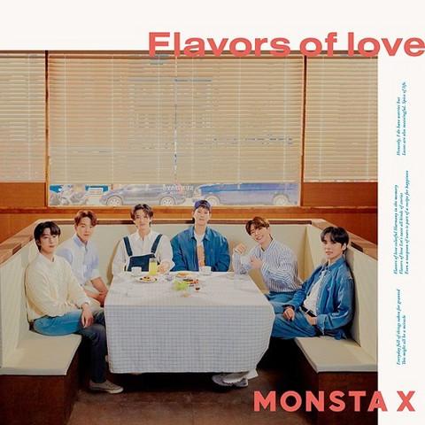MONSTA X - FLAVORS OF LOVE (REGULAR EDITION, FIRST PRESS)