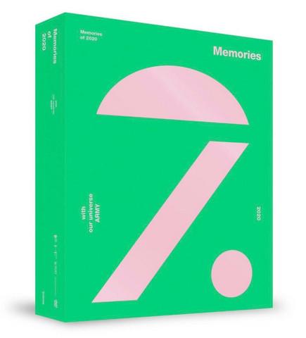 BTS - MEMORIES OF 2020 (DVD)