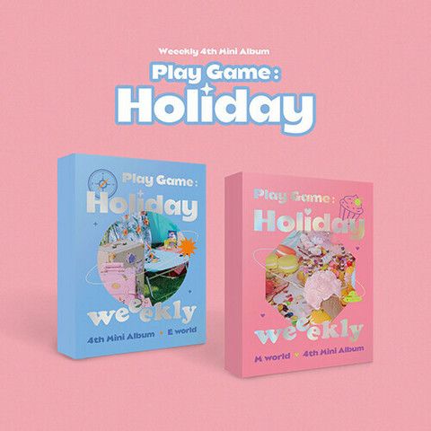 WEEEKLY - PLAY GAME: HOLIDAY (4TH MINI ALBUM)