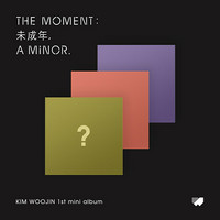 KIM WOOJIN - THE MOMENT: 未成年, A MINOR. (1ST MINI ALBUM)
