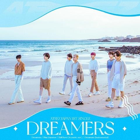 ATEEZ - DREAMERS (CD+DVD / TYPE B)