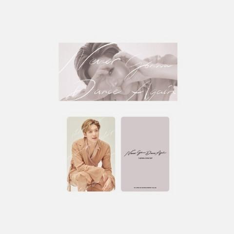 TAEMIN - BEYOND LIVE TAEMIN: N.G.D.A - FLIP BOOK + PHOTO CARD SET (A VER.)