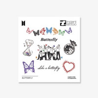 BTS - INSTANT TATTOO - BUTTERFLY