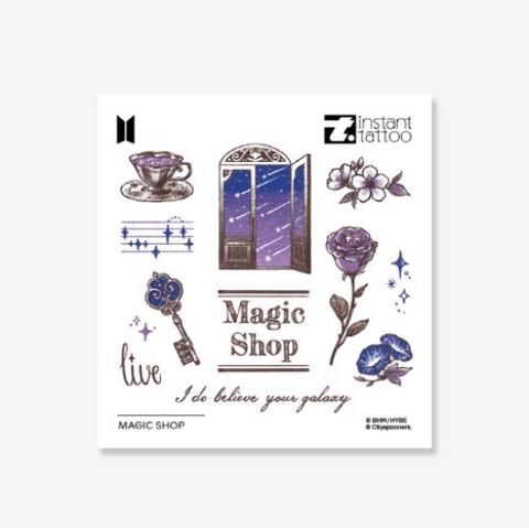 BTS - INSTANT TATTOO - MAGIC SHOP