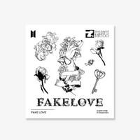 BTS - INSTANT TATTOO - FAKE LOVE