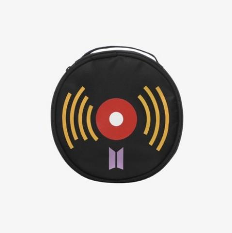 BTS - MCDONALD'S LOGO COLLECTION - LP POUCH (BLACK)
