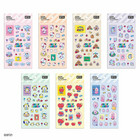 BT21 BABY - CLEAR STICKER - JELLY CANDY
