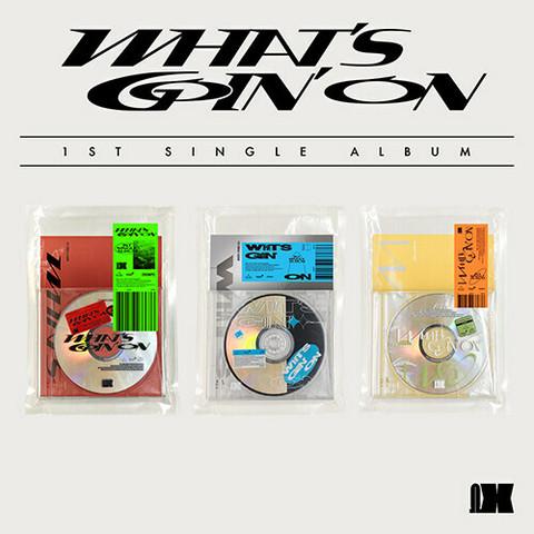 OMEGA X - WHAT'S GOIN' ON (1ST SINGLE ALBUM)
