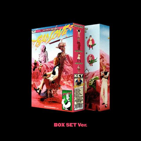 KEY - BAD LOVE (1ST MINI ALBUM) PHOTOBOOK B VER.