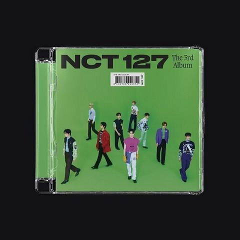 NCT 127 - STICKER (3RD ALBUM) JEWEL CASE VER.   SATUNNAINEN VERSIO
