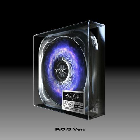 AESPA - SAVAGE (1ST MINI ALBUM) CASE VER / P.O.S VER.