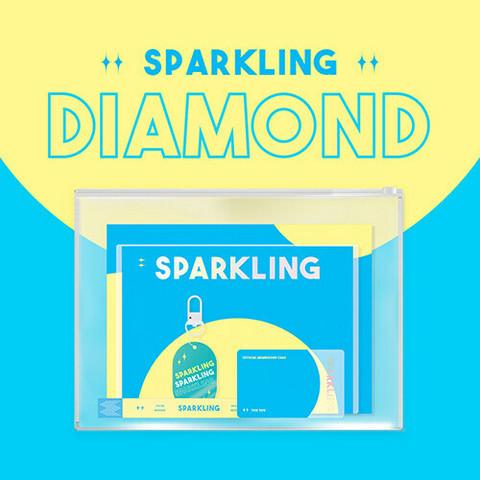 SPARKLING - THE DIAMOND SPARKLING ALBUM KIT (KBS DRAMA IMITATION O.S.T )