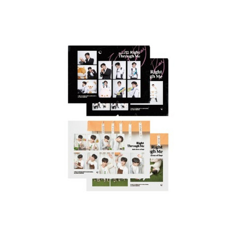 EVEN OF DAY (DAY6) - 2021 RIGHT THROUGH ME - STICKER SET