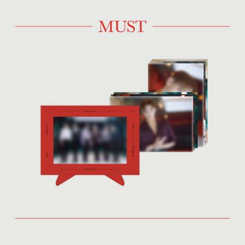 2PM - MUST - PAPER FRAME & PHOTO SET