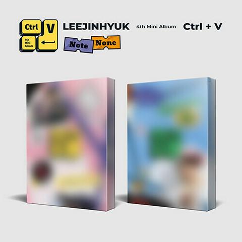 LEE JINHYUK - CTRL+V (4TH MINI ALBUM)