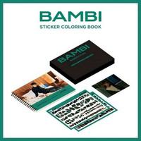 BAEKHYUN - STICKER COLORING BOOK - BAMBI