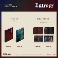 DAY6 – THE BOOK OF US : ENTROPY (3RD ALBUM)