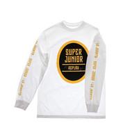 SUPER JUNIOR - REPLAY LONG SLEEVE SHIRT - WHITE