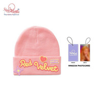 RED VELVET - DAY 2 BEANIE W/PATCH + EXCLUSIVE PHOTO TAG