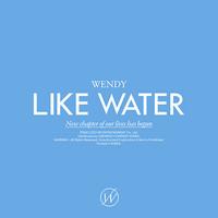 WENDY - LIKE WATER (1ST MINI ALBUM) CASE VER.