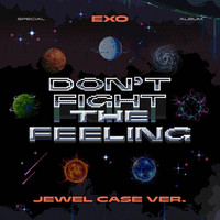EXO - DON'T FIGHT THE FEELING (SPECIAL ALBUM) JEWEL CASE VER.