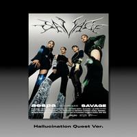 AESPA - SAVAGE (1ST MINI ALBUM) PHOTOBOOK VER / HALLUCINATION QUEST