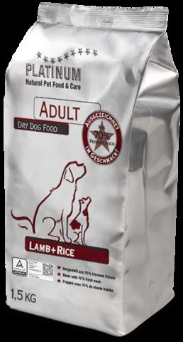 Platinum Lammas-riisi 1,5 kg