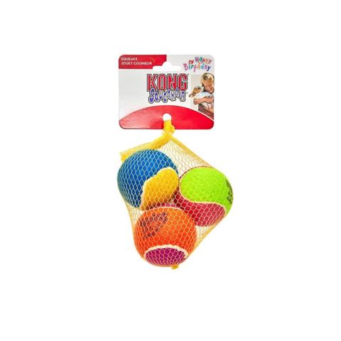 Kong Squeakair Birthday Tennispallo