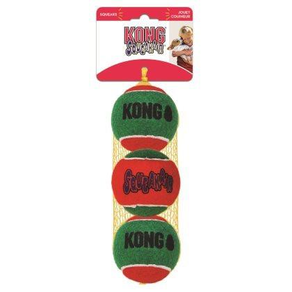 Kong Holiday Squeakair Tennispallo