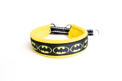 Vijue puolikiristävä panta Batman keltainen