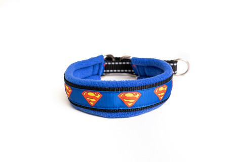 Vijue puolikiristävä panta Superman sininen