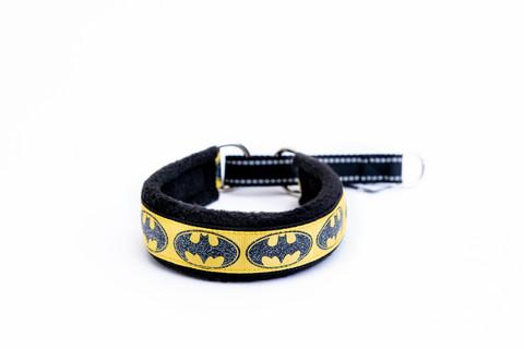 Vijue puolikiristävä panta Batman musta/keltainen