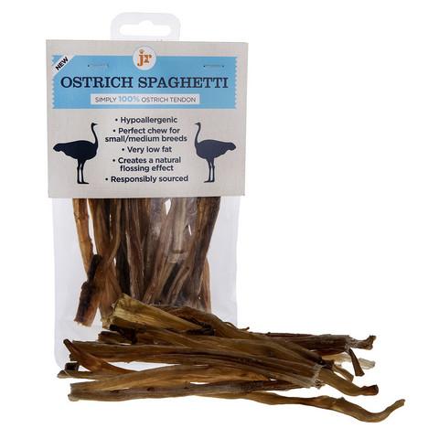 JR Pet Ostrich Spaghetti- Strutsispagetti, 80g