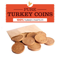 JR Pure Turkey Coins - Kalkkunakiekot