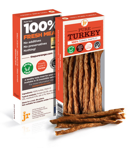 JR Pet Meat Sticks Turkey – Kalkkuna lihatikut 50g