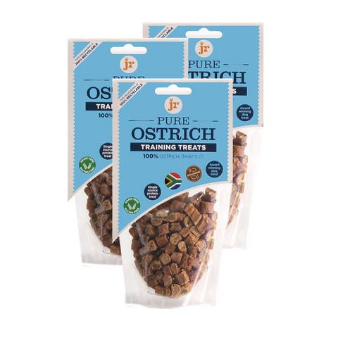 JR Pet Training Treats Ostrich– Strutsi, 85g