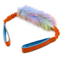 Zayma Faux Fur Bungee Two Handles