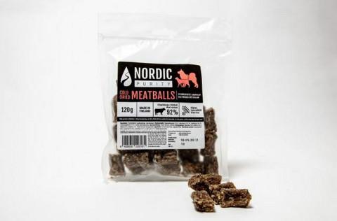 Nordic Purity Kylmäkuivatut mahapullat 120 g