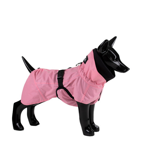PAIKKA Visibility Raincoat - Heijastava sadetakki, pinkki