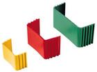Ilmalämpöpumpun asennustarvike 110x75 mm putkikiristin